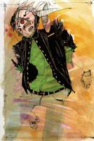 Portrait of Self: Gethisorchye by b33lz3bub