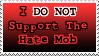 Anti-Hate-Mob Stamp by Jinggo78