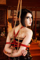 Rope suspension by nikki-mayhem