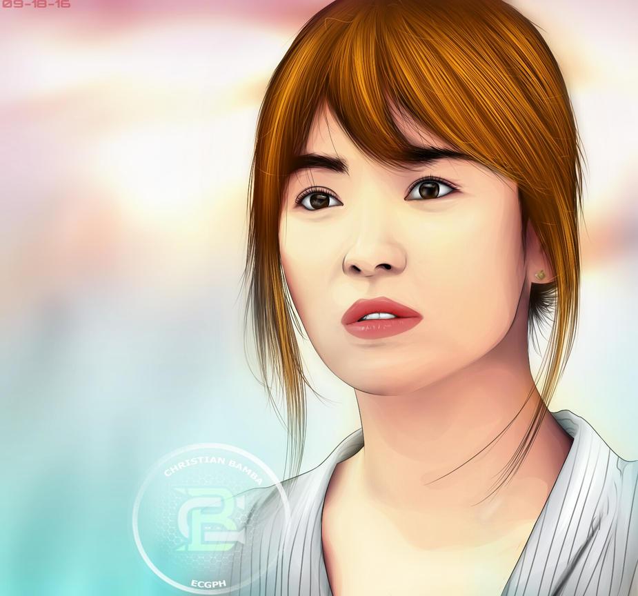 Song Hye Kyo By XtianBamba On DeviantArt