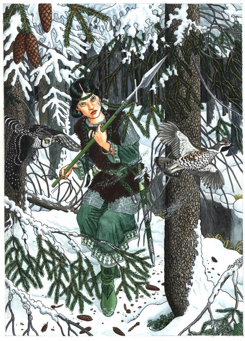 Spruce by Nikkolainen