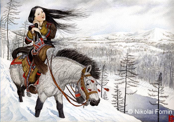 Yakutia. by Nikkolainen