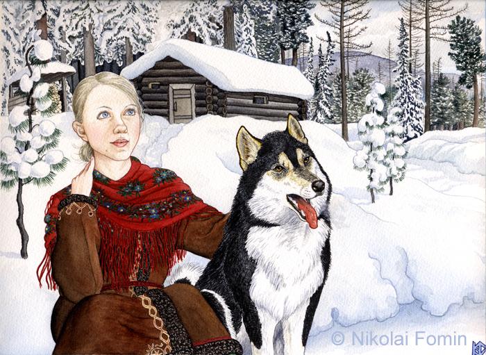 Siberian Eyes by Nikkolainen