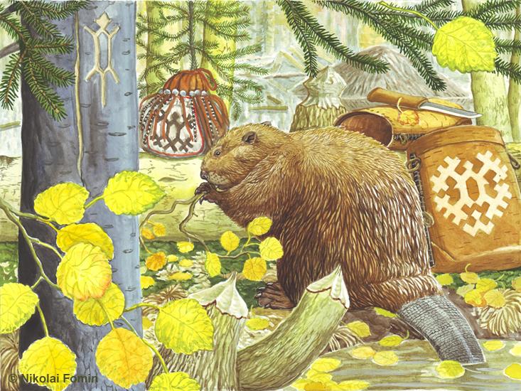 Beaver. by Nikkolainen