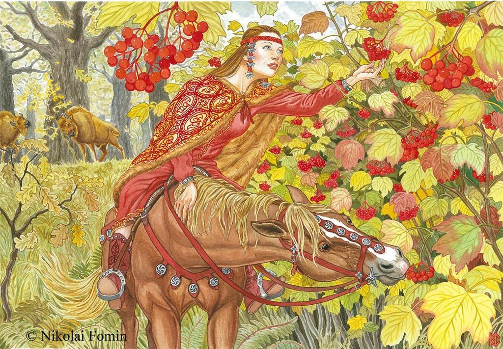 Guelder-rose. by Nikkolainen