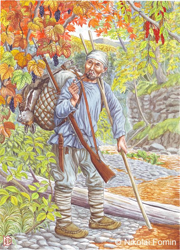 Dersu Uzala, the famous Nanai path-finder. by Nikkolainen