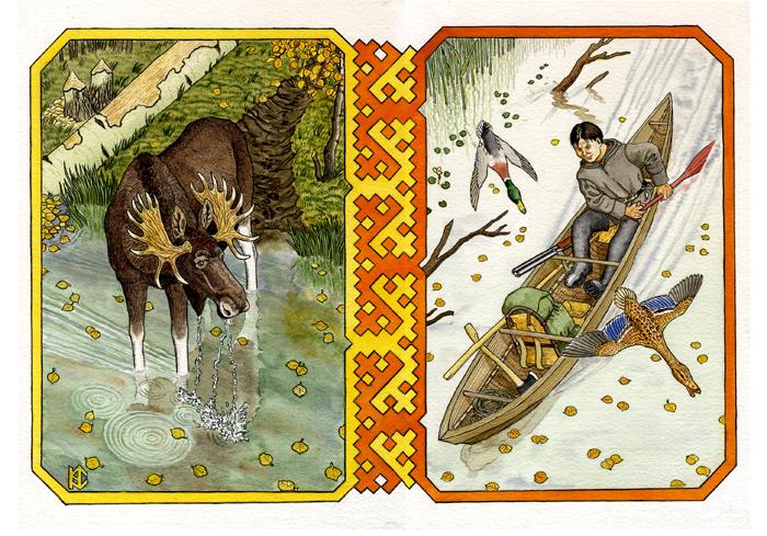 On the river. by Nikkolainen