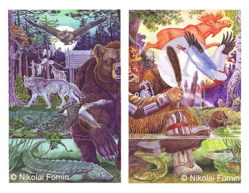 Sacred animals. by Nikkolainen