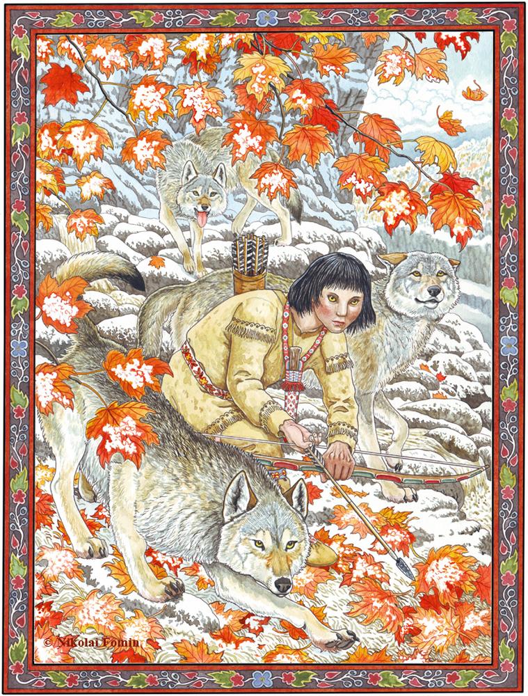 The Wolf Boy. by Nikkolainen