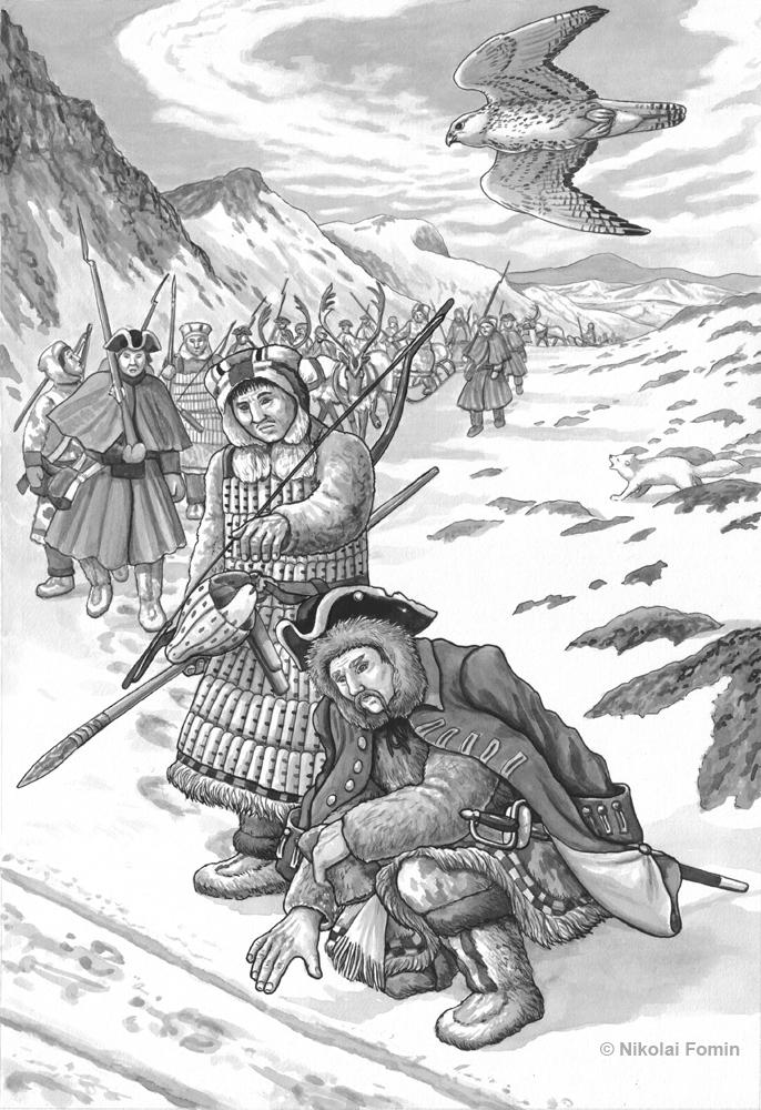 The last campaign of the major Dmitriy Pavlutskiy by Nikkolainen