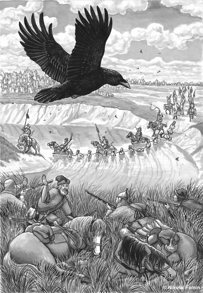 The ambush against Devlet-Girey. by Nikkolainen