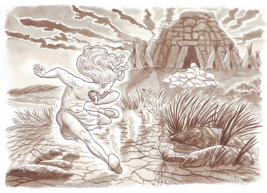 The Little Spirit of Massawunk. by Nikkolainen