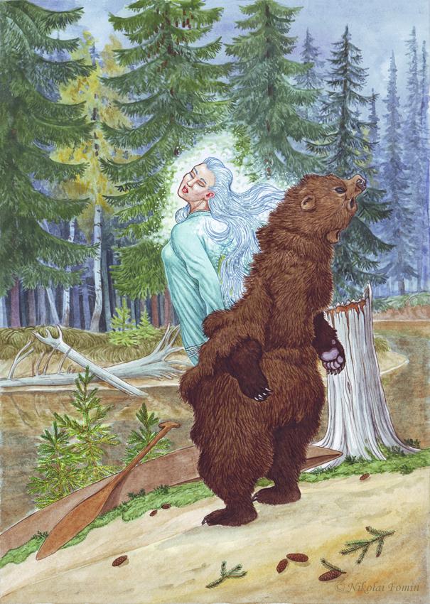 Machenkat. Transfiguration of the Bear. by Nikkolainen