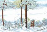 Cover illustration for Khanty Fairytales