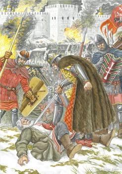 Algirdas, the prince of Lithuania, and Luca.
