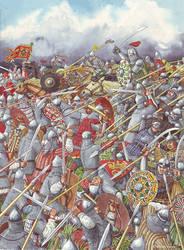 Battle of Kulikovo, 1380.
