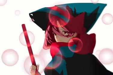 Magical Girl Witch Kiyomi by arneewenn