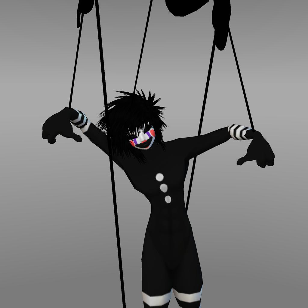 Fnaf 2 marionette by monstermaster13 on deviantart