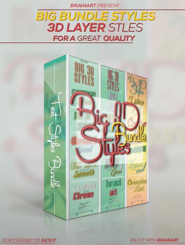 3D Styles Bundle by Hz-designer