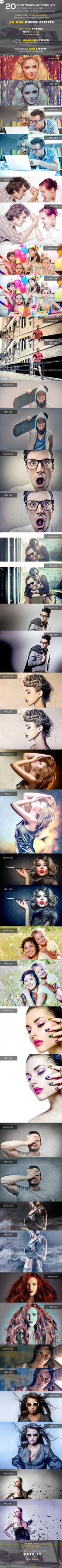 20 HDR Photo Effects V.02 - Photoshop Action by Hz-designer