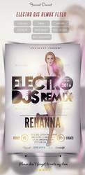 Electro DJs Remix Flyer by Hz-designer