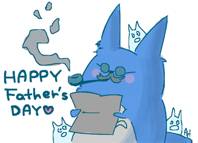 totoro_Happy fathers day by asami-h