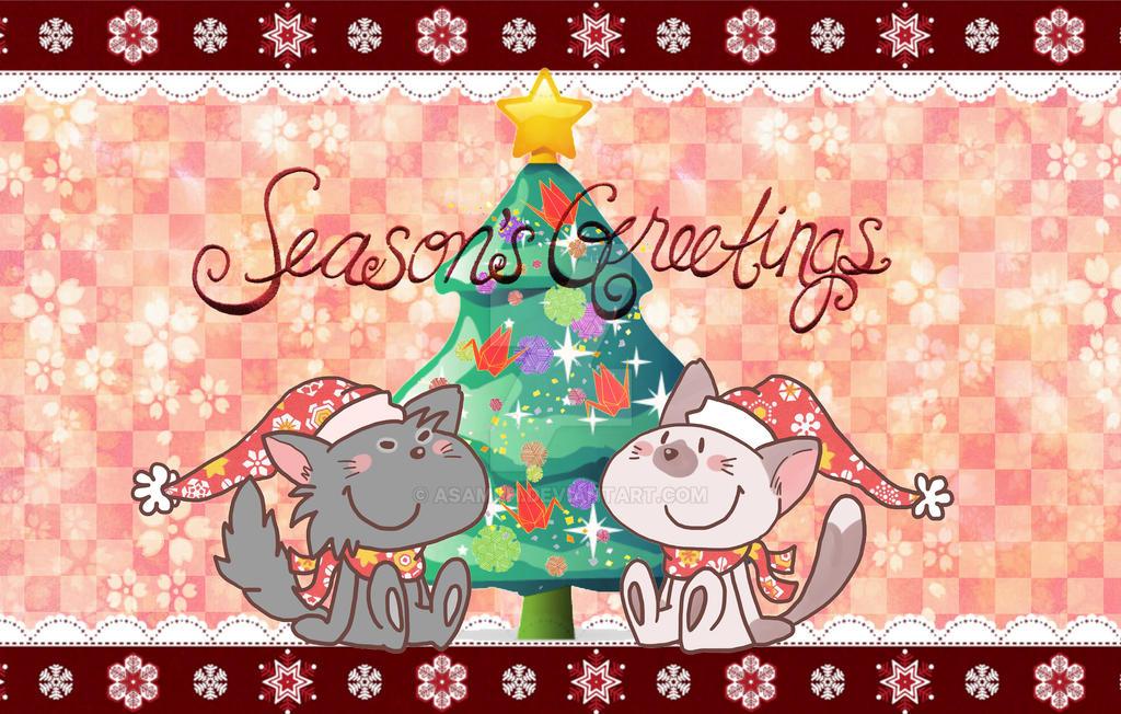 Seasons greetings by asami-h