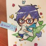 Splash free!!!!_Rei chan by asami-h