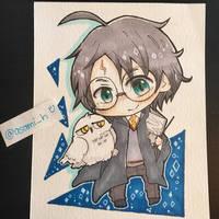 Harry Potter by asami-h