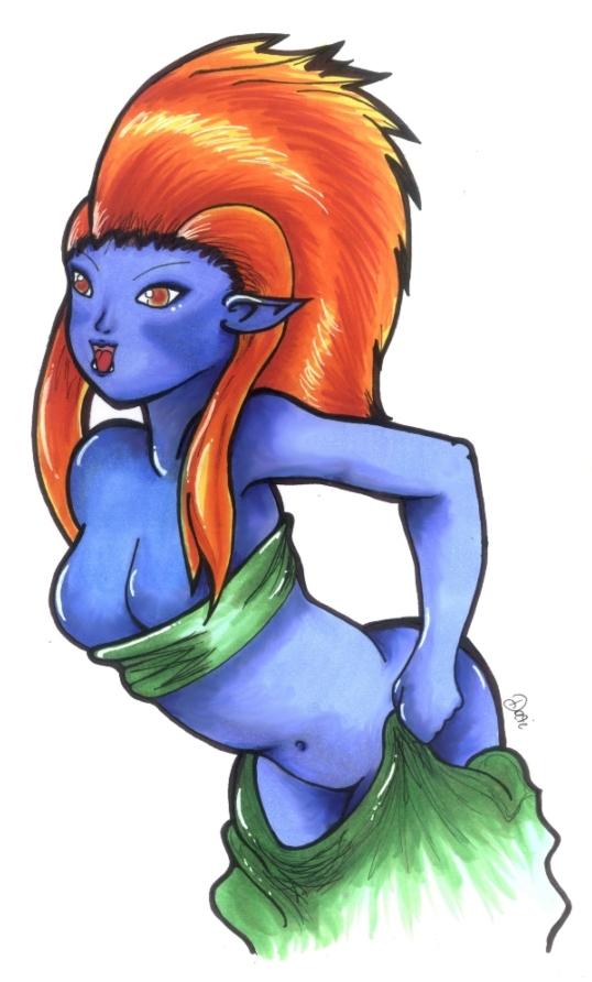 Sexy Troll by Rettungsratte