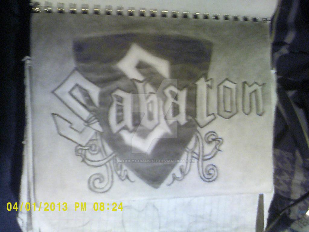 Sabaton logo by BloodyXxBanshee