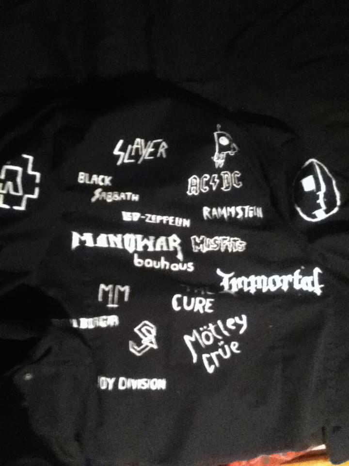 D.I.Y jacket by BloodyXxBanshee