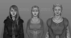 Ciri, Pavetta and Calanthe