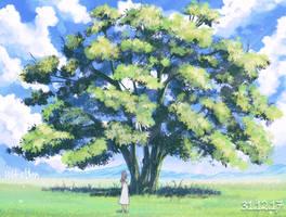 aaand a tree again! by Hibelton