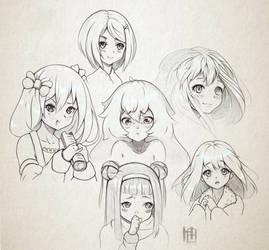 Sketches by Hibelton