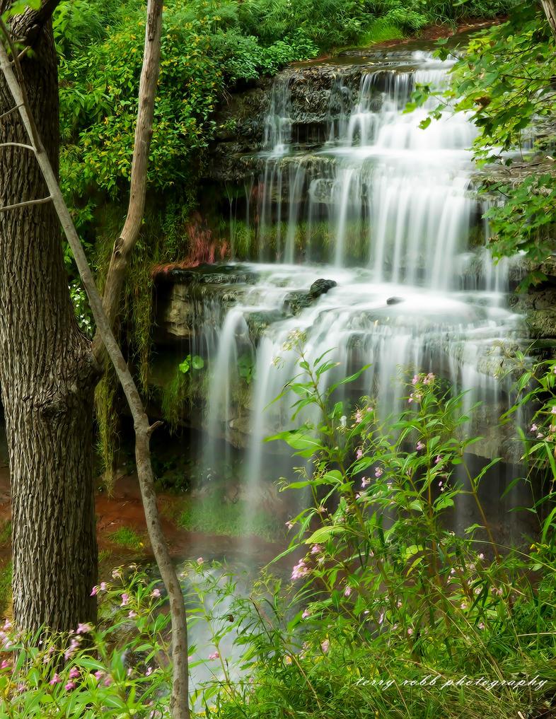 Waterdown Waterfall by Lenore49