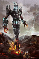 Fire Colossus by Raydiant