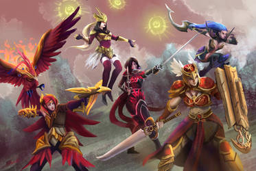 League of Ladies by Raydiant