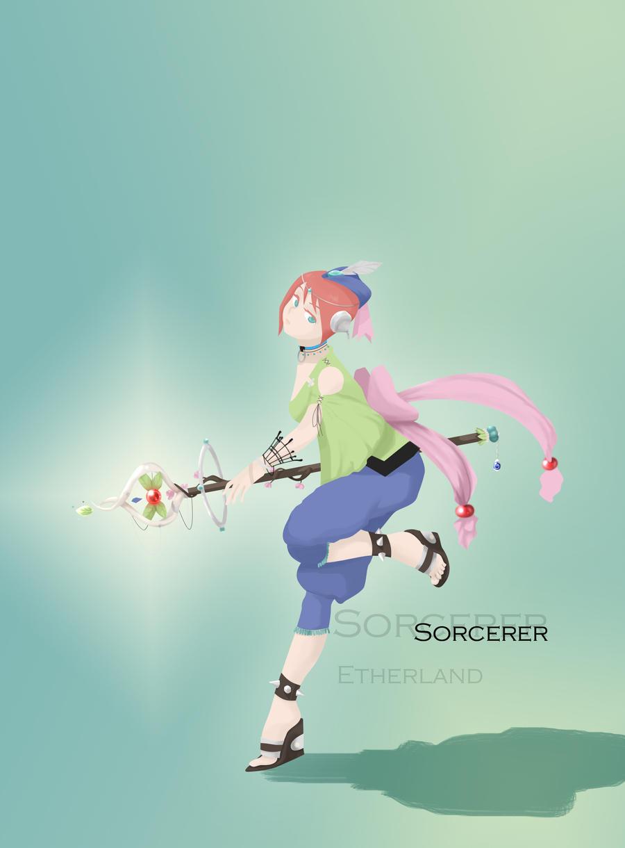 FEZ- Sorcerer by Etherland