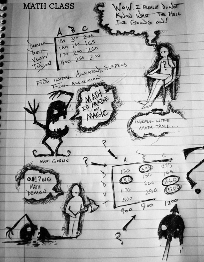 Math Class by josephR