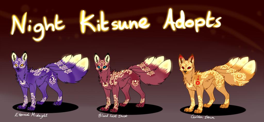 .:: 3 Night Kitsune ::. (OPEN) by neoinu