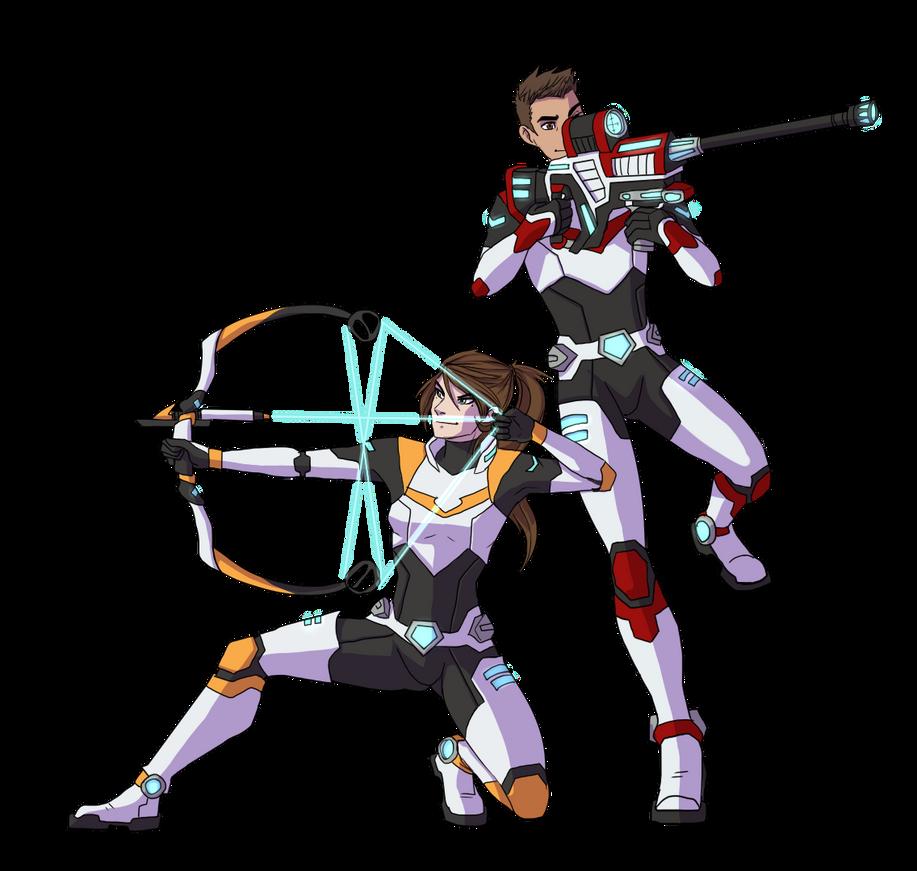 Legendary Defenders by neoinu