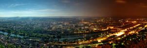 Trier - Day to Night Panorama