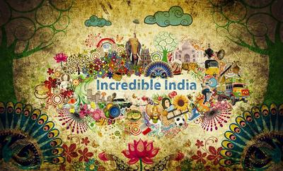 'Incredible india'  Identity by prasadesign