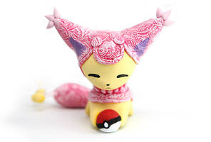 One more Skitty with a Pokeball by Ailinn-Lein