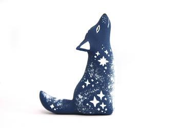 Vanishing Starlight Wolf by Ailinn-Lein