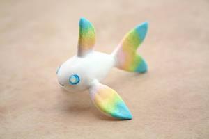 Rainbow Fish Figurine by Ailinn-Lein