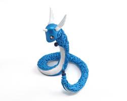 Dragonair Figurine by Ailinn-Lein