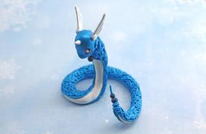 Dragonair Figurine II by Ailinn-Lein