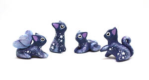 Vanishing Starlight Kittens by Ailinn-Lein